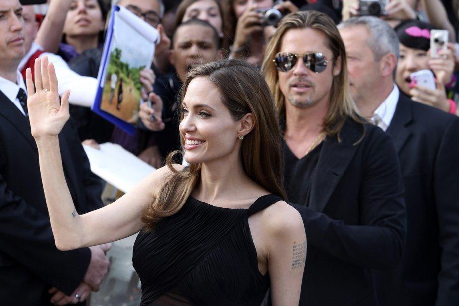 Angelina Jolie a déclaré que le risque pour... (PHOTO NEIL HALL, REUTERS)