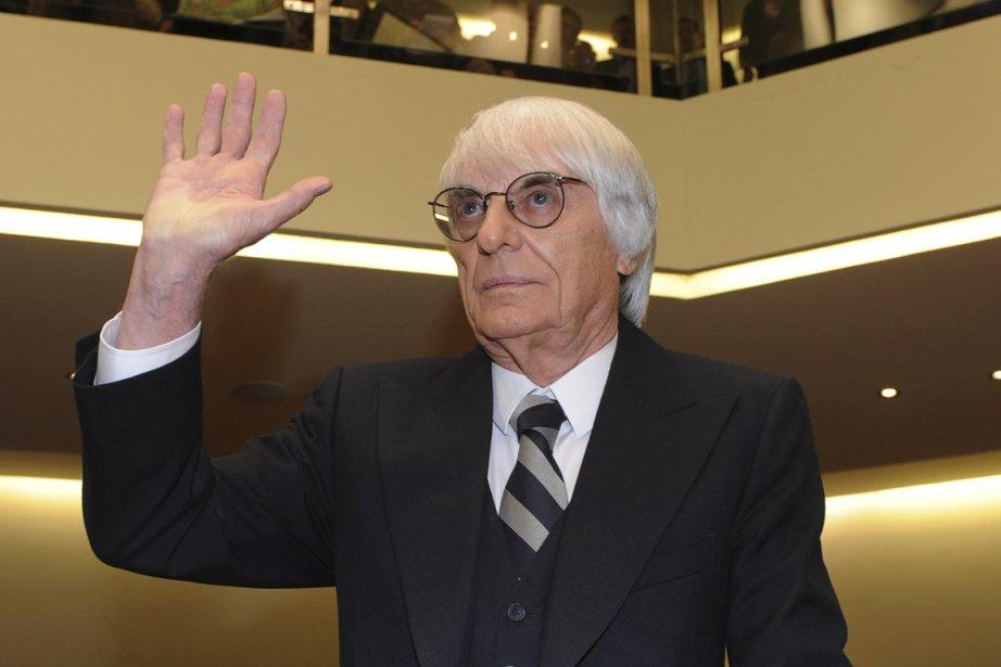 BernieEcclestonefait l'objet d'accusations criminelles en Allemagne. On le... (Christof Stache, archives Agence France-Presse)