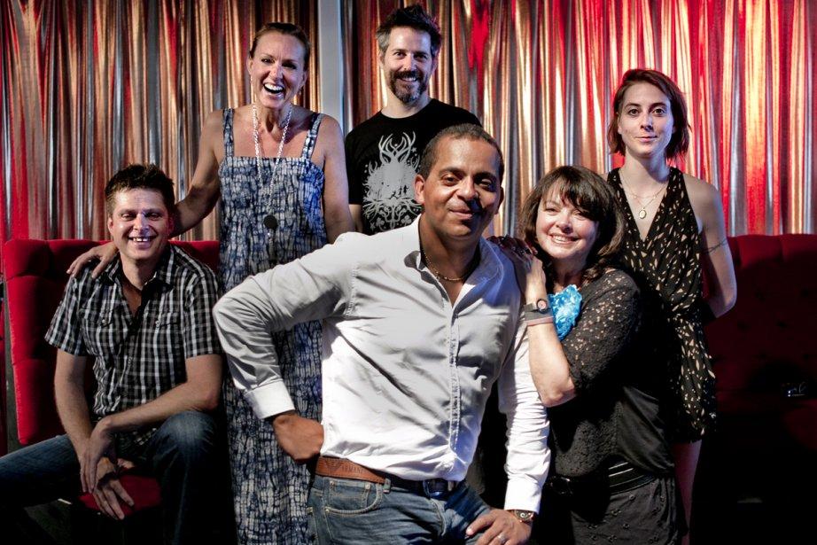 Réal Bossé, Sophie Prégent, Daniel Parent, Louise Portal... (Photo: Marco Campanozzi, La Presse)