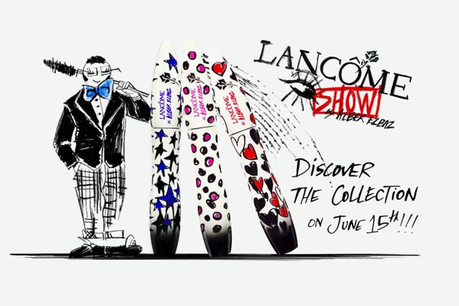 La collection imaginée par Alber Elbaz pour Lancôme... (Photo: Lancôme)