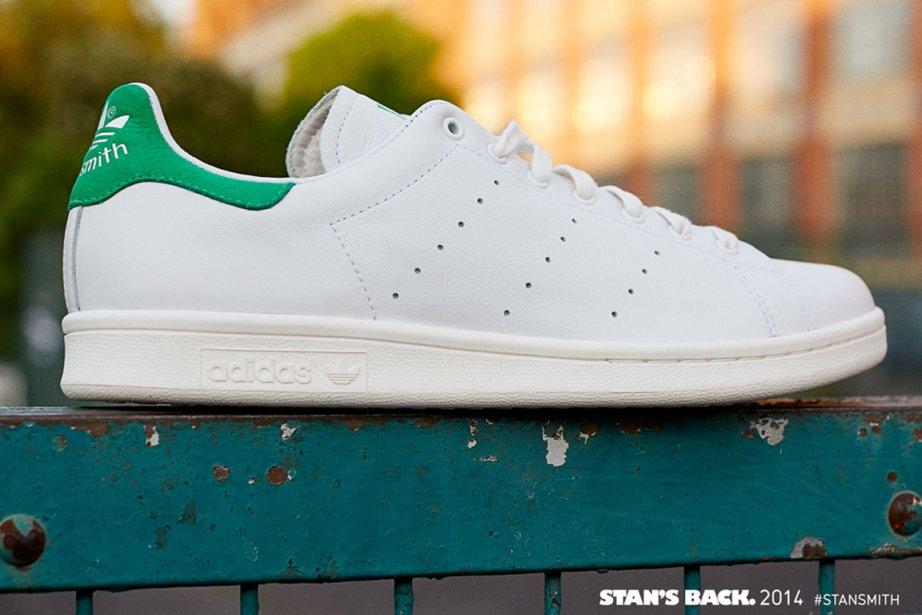La célèbre Stan Smith d'Adidas revient sur le... (Photo: Adidas)