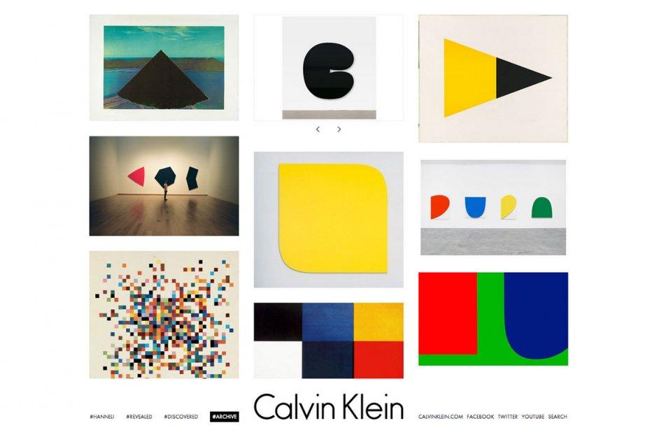 Le compte Tumblr de Calvin Klein.... (Photo tirée du Tumblr de Calvin Klein)