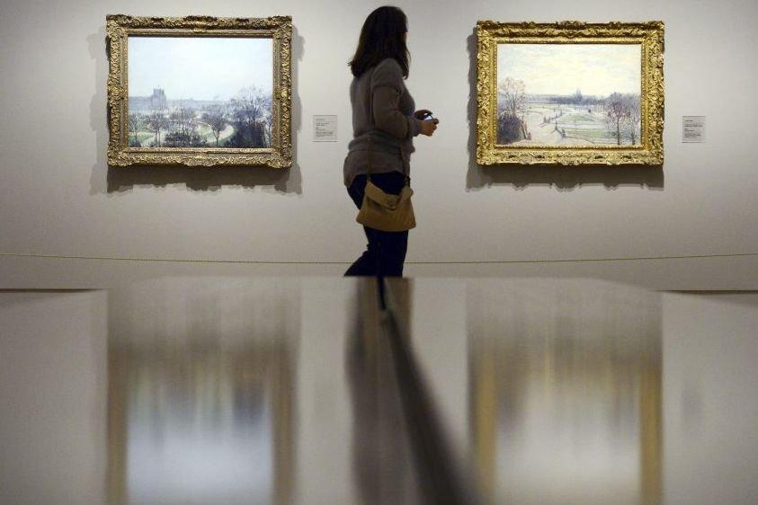 Surnommé par Paul Cézanne le «premier impressionniste», le... (Photo: AFP)
