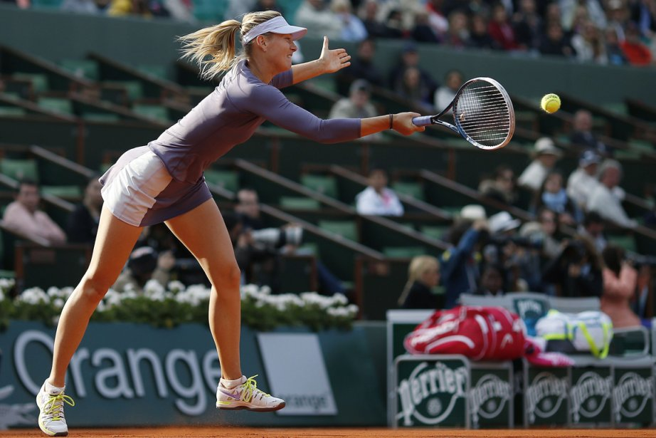 Maria Sharapova... (Photo Thomas Coex, AFP)