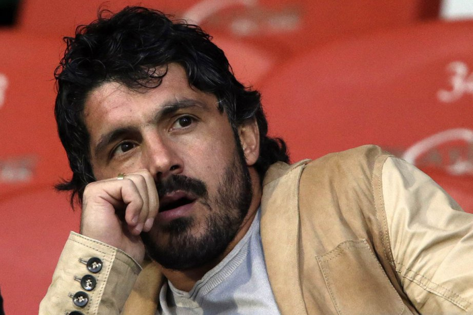 Gennaro Gattuso... (Photo Denis Balibouse, AFP)