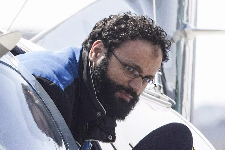 Chiheb Esseghaier est accusé d'avoir comploté pour préparer... (PHOTO CHRIS YOUNG, PC)