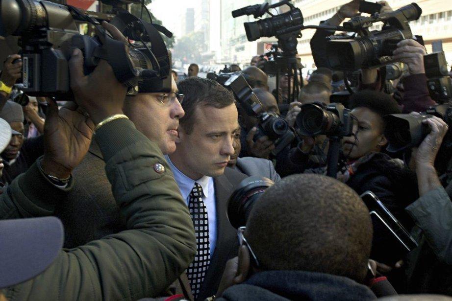 Oscar Pistorius... (Photo AFP)