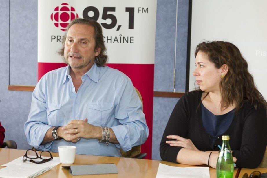 Franco Nuovo animera une série radiophonique de cinq... (Photo: Hugo-Sébastien Aubert, La Presse)