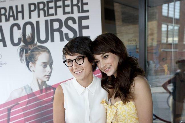 Depuis leur retour de Cannes, Chloé Robichaud et Sophie Desmarais... | 2013-06-04 00:00:00.000