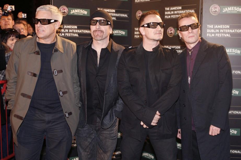 Le groupe U2... (Photo: archives AP)