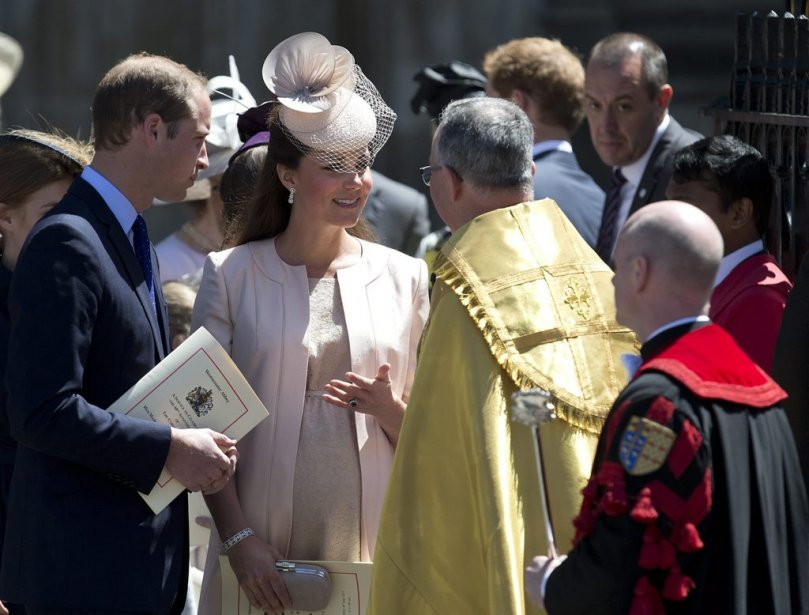 Le prince William et la duchesse de Cambridge, Kate. | 4 juin 2013