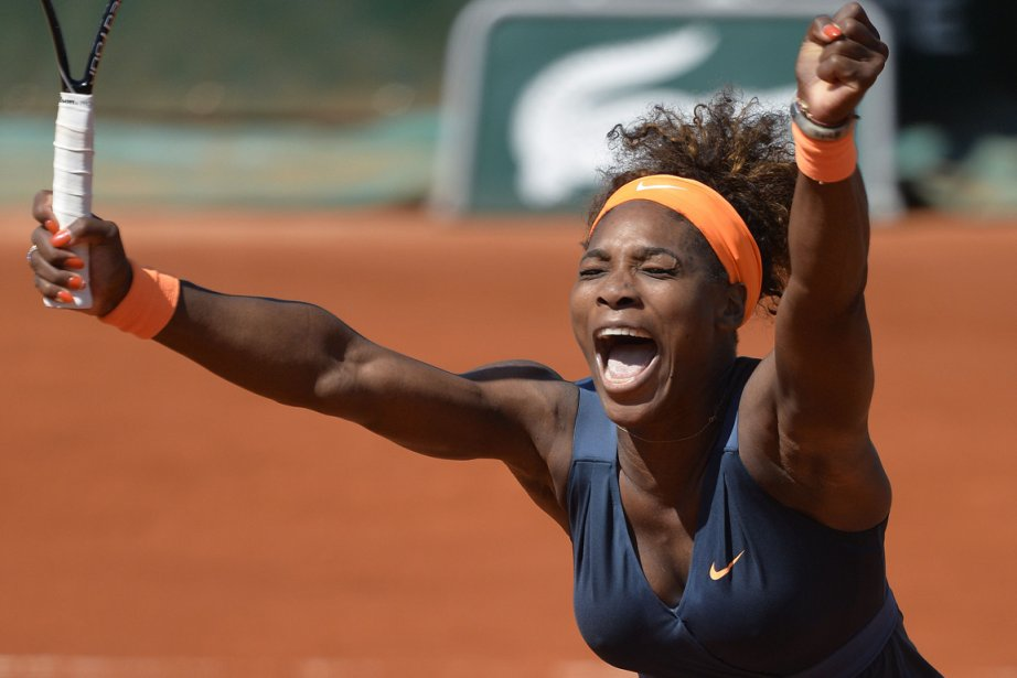 Serena Williams a dû livrer une féroce bataille... (Photo Miguel Medina, AFP)