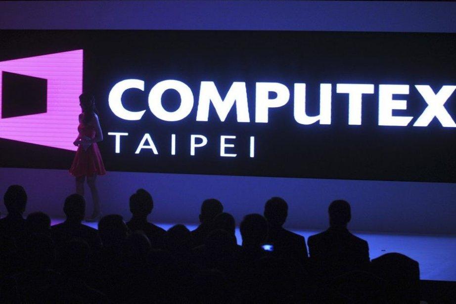 Le Computex, qui a ouvert ses portes le... (PHOTO MANDY CHENG, AFP)