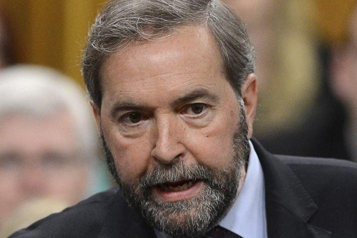 Thomas Mulcair, leader du NPD.... (PHOTO SEAN KILPATRICK, LA PRESSE CANADIENNE)