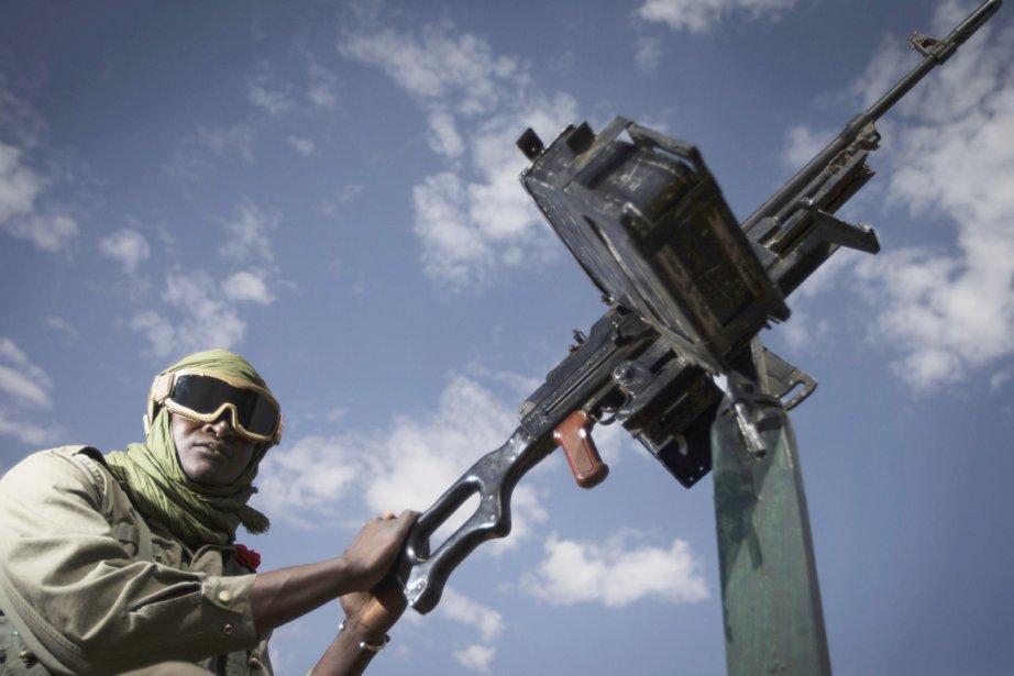 Un soldat malien à Gao, plus grande ville... (PHOTO JOEL SAGET, ARCHIVES AFP)