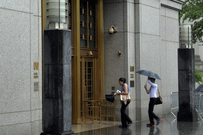 Le procès se tient à New York, où... (PHOTO STAN HONDA, AFP)