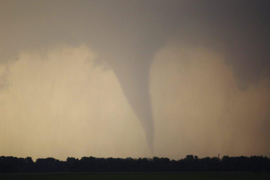 Le Service national de la météo américian a... (Photo AP)