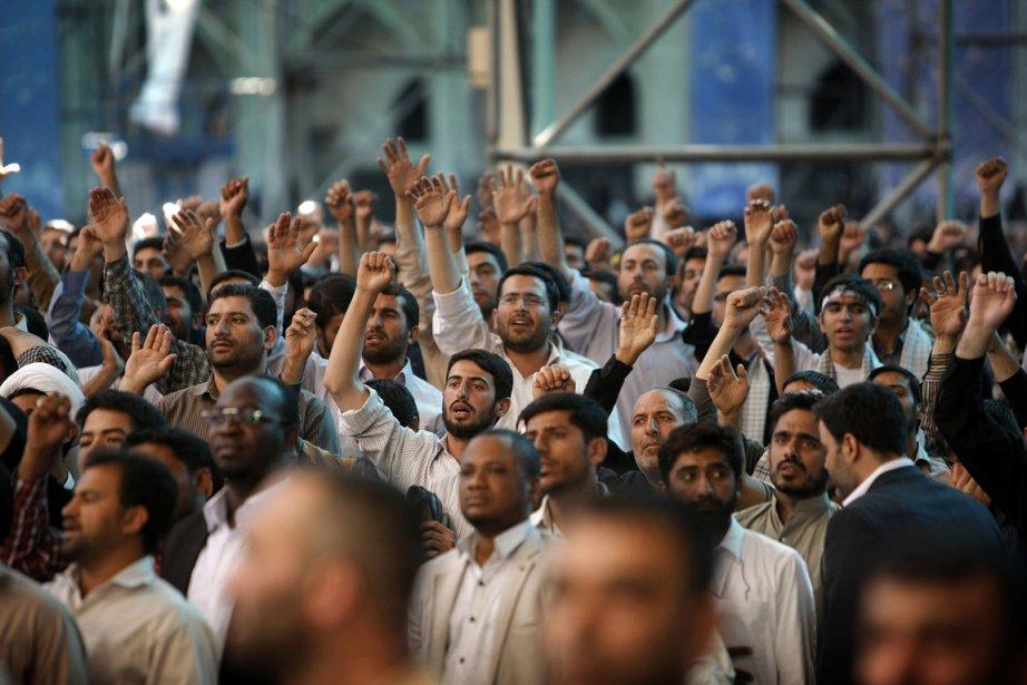 Les Iraniens sont accusés de vouloir fabriquer l'arme... (PHOTO AFP)