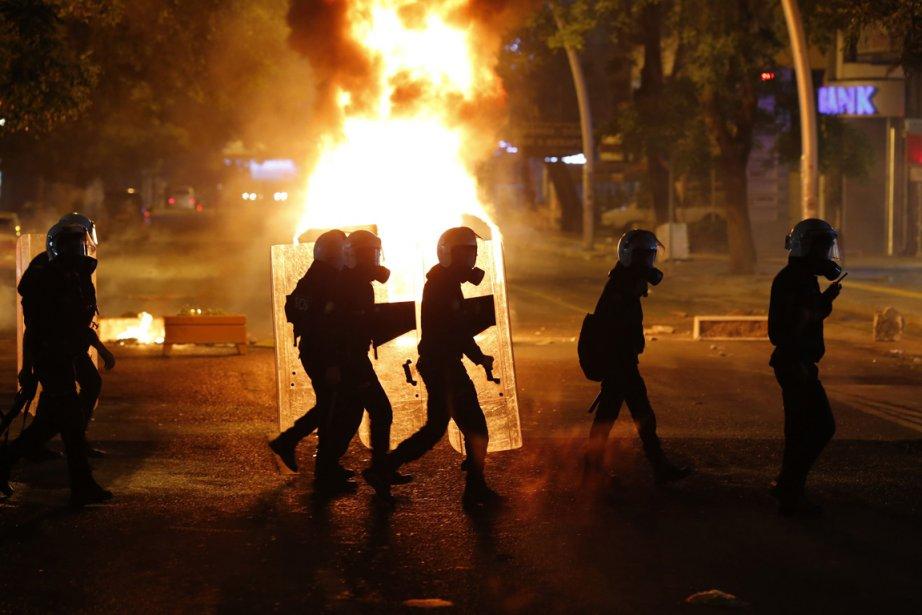La brutalité de la répression, largement évoquée sur... (PHOTO UMIT BEKTAS, ARCHIVES REUTERS)