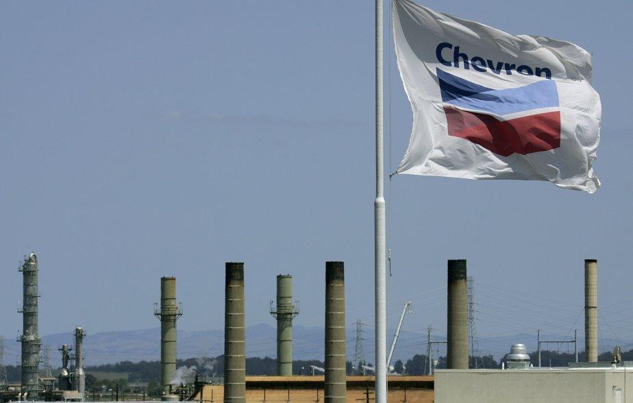 Chevron espère signer en juillet un contrat avec... (PHOTO Ben Margot, AP)