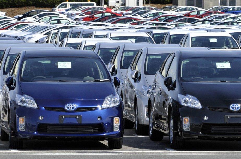 Le premier constructeur d'automobiles japonais, Toyota, a annoncé... (Photo AFP)
