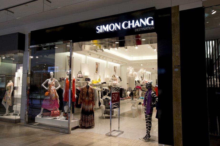 Les boutiques de vêtements Simon Chang comptent six... (PHOTO ALAIN ROBERGE, LA PRESSE)