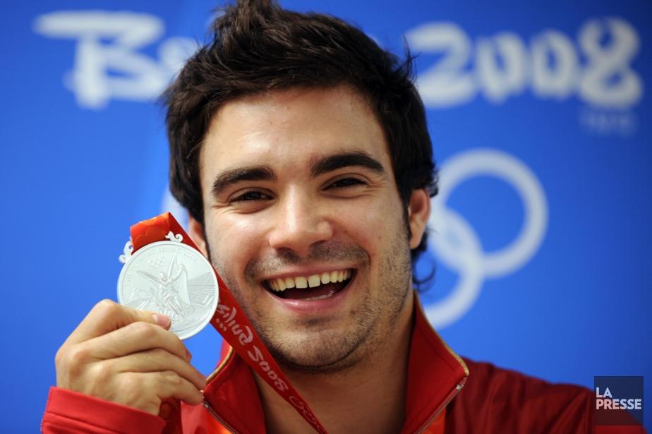 Alexandre Despatie a remporté la médaille d'argent au... (Photo Bernard Brault, La Presse)
