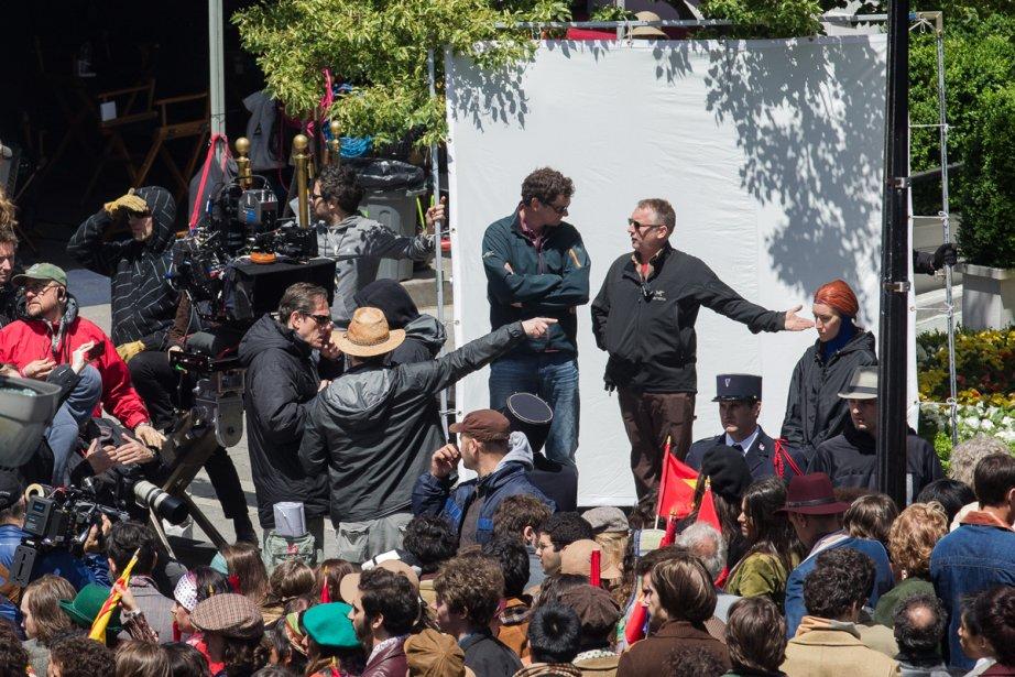 Le tournage du quatrième volet... (Photo: Édouard Plante-Fréchette, La Presse)