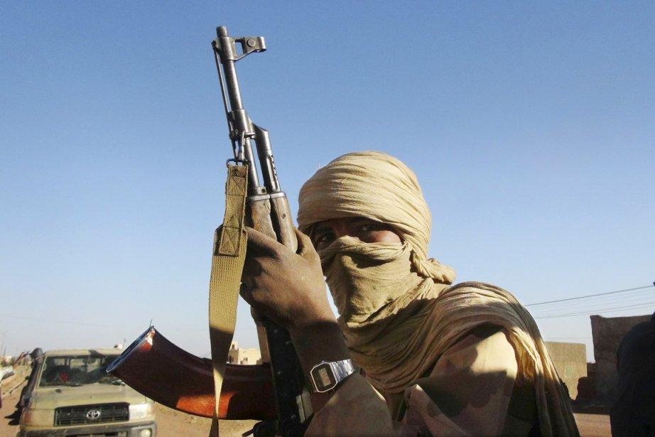 Un combattant de la MNLA, à Kidal dans... (PHOTO CHEICK DIOURARA, ARCHIVES REUTERS)