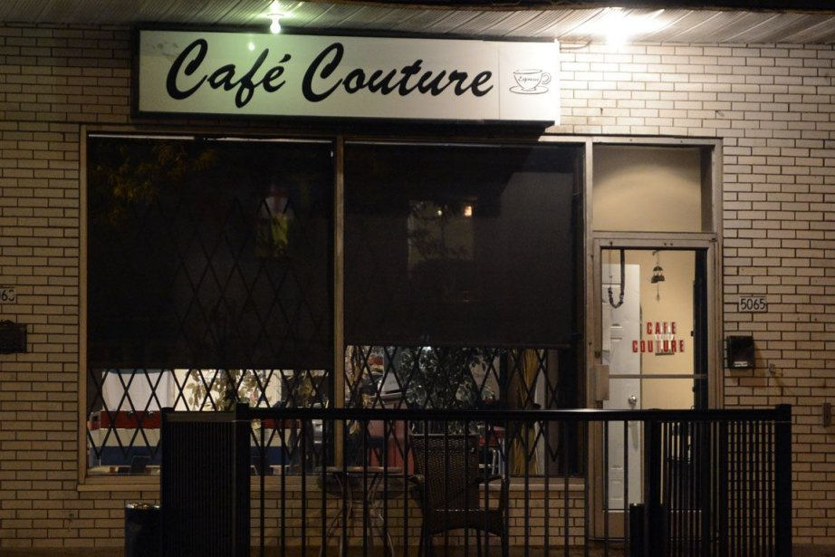 Le café Couture, dans le nord-est de Montréal,... (Photo Bernard Brault, La Presse)