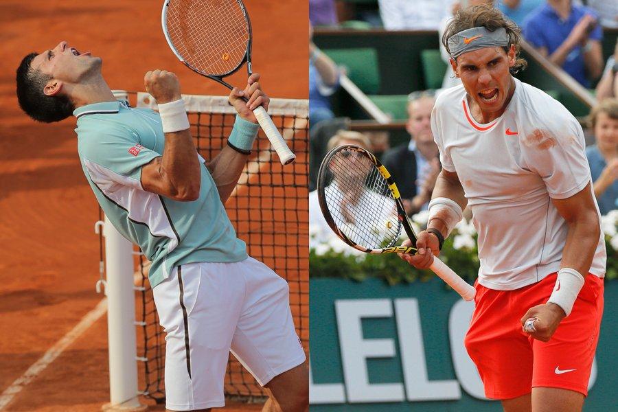 Le duel fort attendu entre Novak Djokovic et... (Photos AP et Reuters)