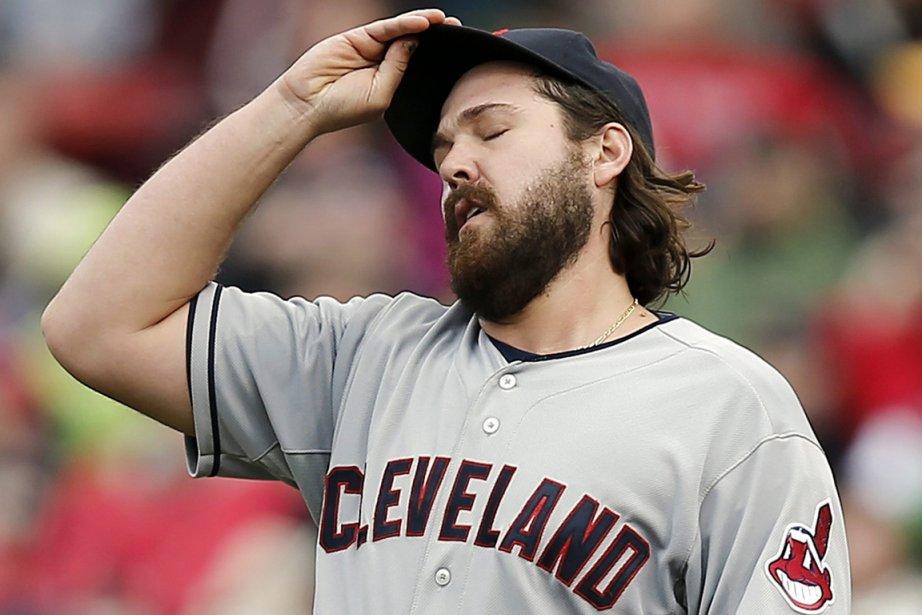 Le releveur Chris Perez, des Indians de Cleveland.... (Photo AP)