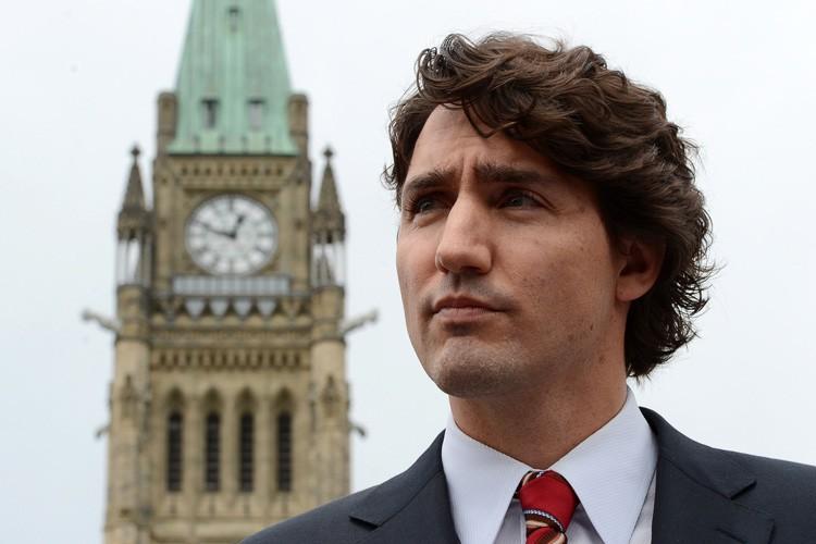 Justin Trudeau a tenu une conférence de presse... (Photo: PC)