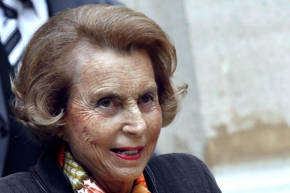 La riche héritière de L'Oréal,Liliane Bettencourt.... (PHOTO FRANCOIS GUILLOT, AFP)