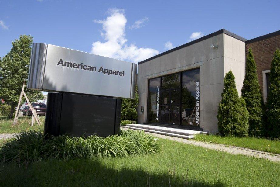 L'entrepôt d'AmericanApparelprès de l'hippodrome (photo) fermera dans les... (Photo Robert Skinner, La Presse)