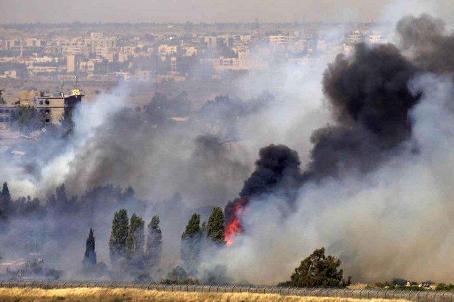 Israël, officiellement en état de guerre avec la... (Photo: AFP)
