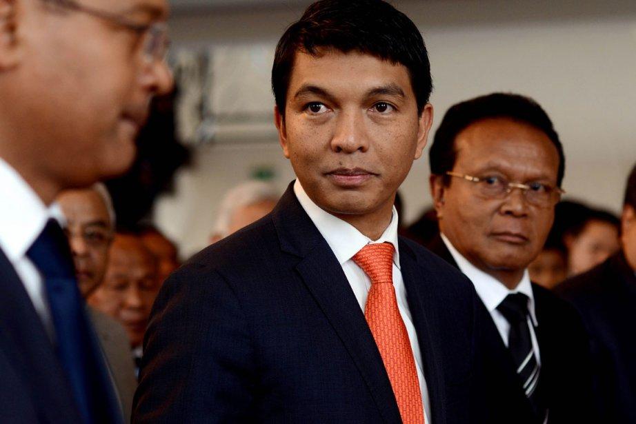 L'ancien maire d'Antananarivo Andry Rajoelina, qui gouverne depuis... (Photo: AFP)