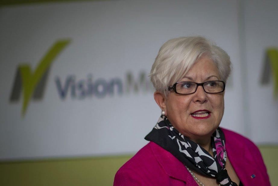 La chef de Vision Montréal, Louise Harel.... (Photo: André Pichette, La Presse)