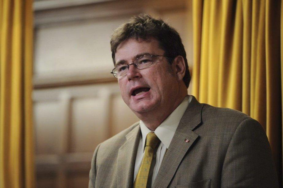Les membres de l'Association conservatrice d'Edmonton-St. Albert, la... (Photo Sean Kilpatrick, La Presse Canadienne)