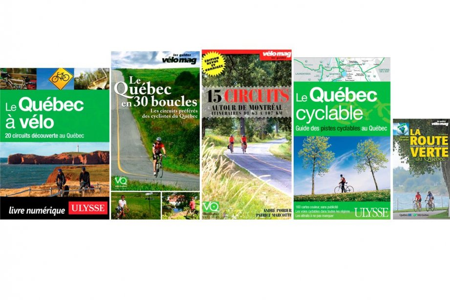 Des guides, fort bien pensés, pour trouver où pédaler au Québec cet été.