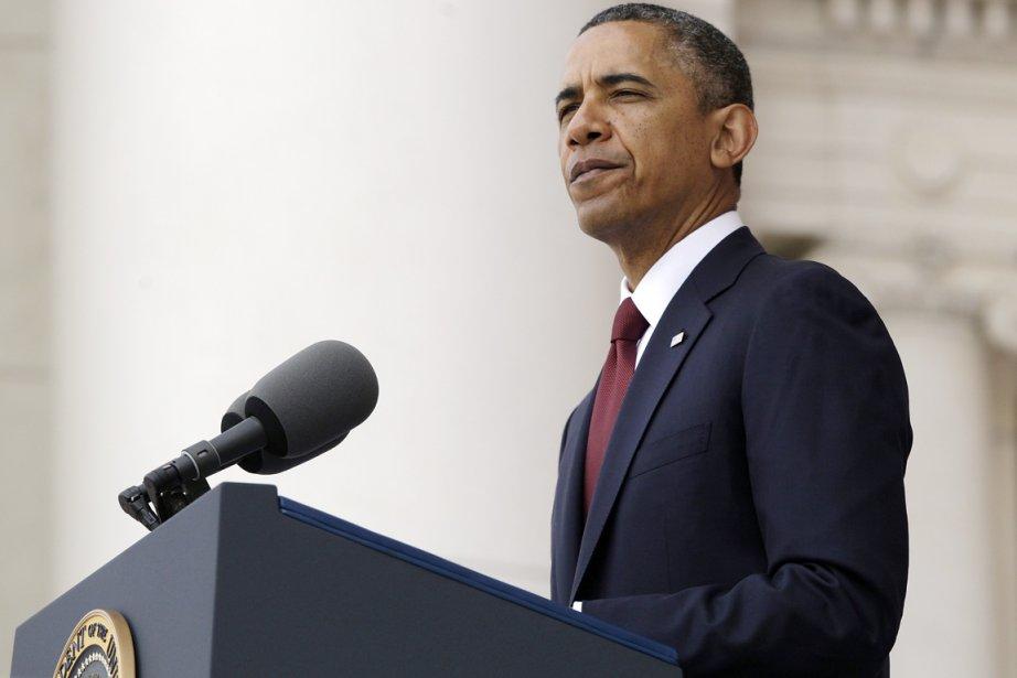 Le président américain Barack Obama.... (PHOTO JONATHAN ERNST, REUTERS)