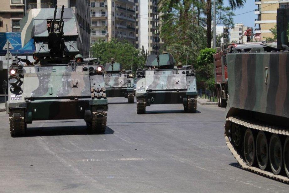 L'armée a été déployée en force a Tripoli... (PHOTO OMAR IBRAHIM, REUTERS)