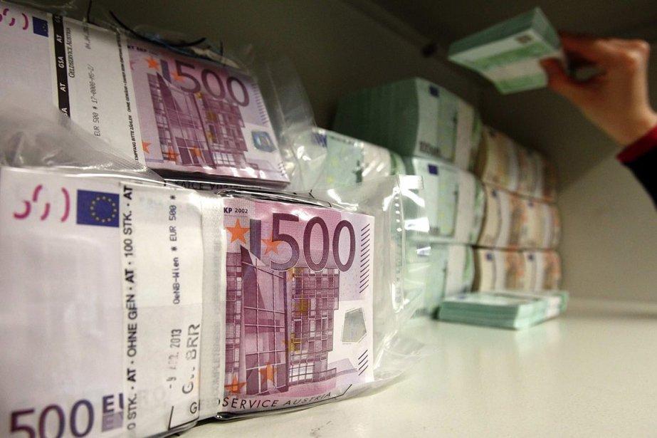 L'euro évoluait à des niveaux plus vus en trois mois,... (Photo Archives Reuters)