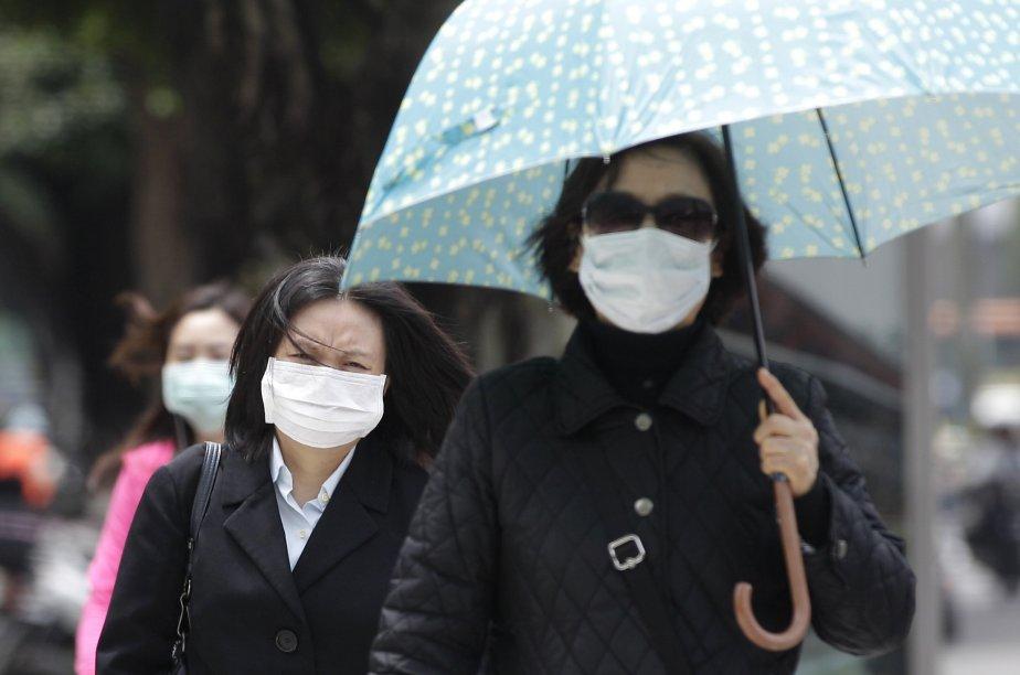 Tellement l'air est polluée par moment en Chine,... (PHOTO PICHI CHUANG, REUTERS)