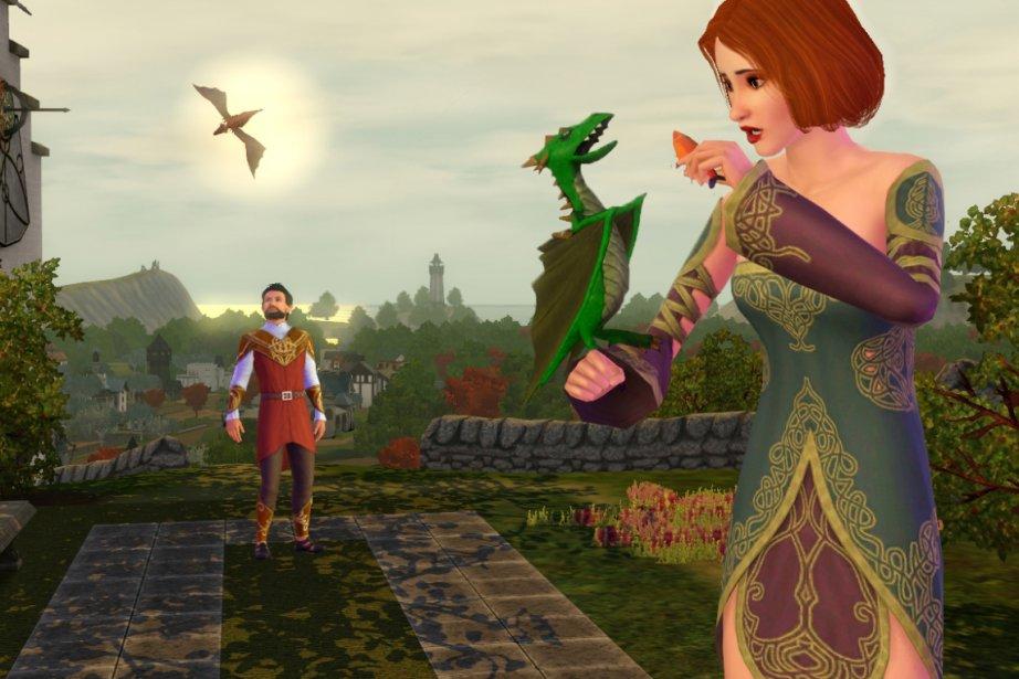 """Reproduisant le génie de """"Game of Thrones"""", la toute dernière version des Sims..."""