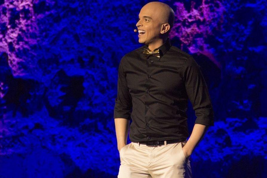 Rachid Badouri a présenté son spectacle Rachid fait... (Photo: Ninon Pednault, La Presse)
