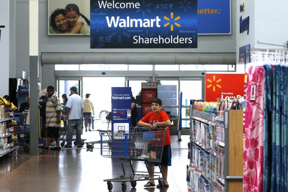 Walmart, a annoncé vendredi le lancement d'un programme de 15 milliards de...