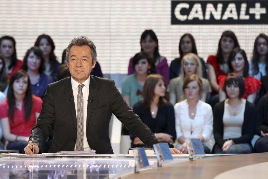 Michel Denisot, animateur vedette du Grand Journal à... (Photo: AFP)