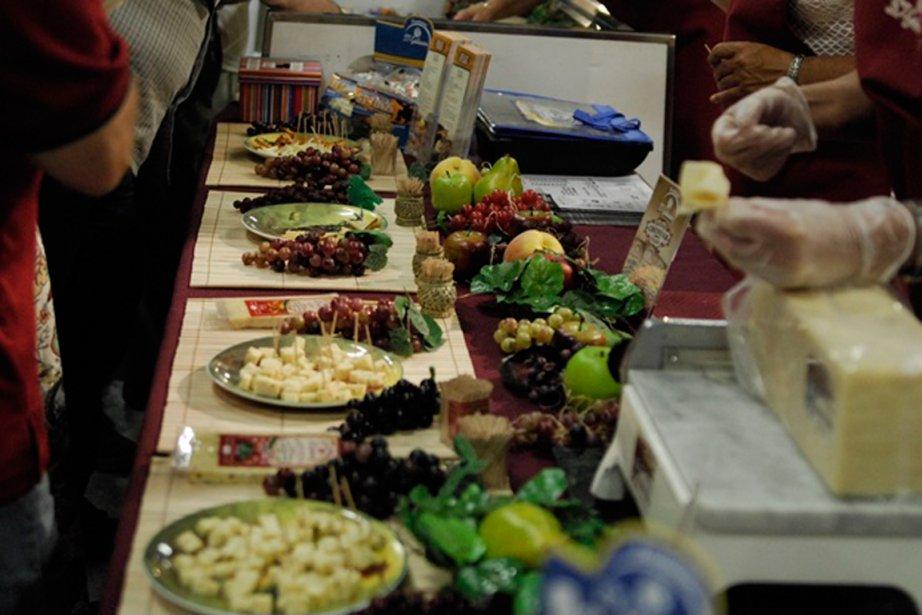 Le Festival des fromages fins de Victoriaville saura... (PHOTO FOURNIE PAR LE FESTIVAL DES FROMAGES FINS DE VICTORIAVILLE)