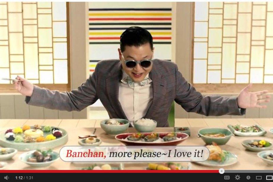 Psy dans une publicité ventant le tourisme en... (PHOTO TIRÉE DE YOUTUBE)